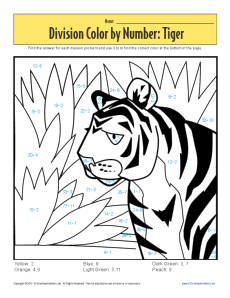 Division_Color_by_Number_Tiger