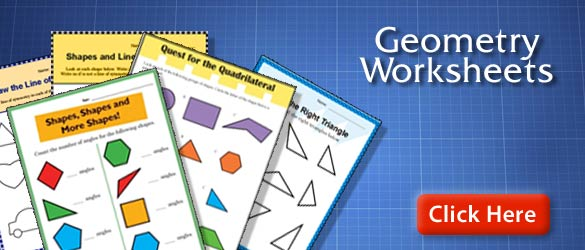 Printable Math Worksheets – Printable Geometry Worksheets