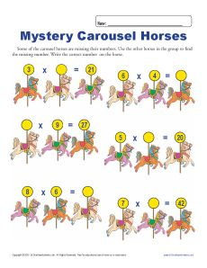 Mystery_Carousel_Horses