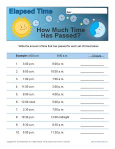 Elapsed Time: How Much Time Has Passed?