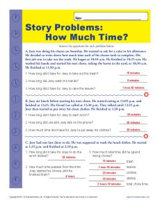 how much time elapsed time word problems for 2nd grade. Black Bedroom Furniture Sets. Home Design Ideas