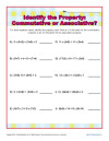 math worksheet : associative property worksheets for practice : Properties Of Addition Worksheet