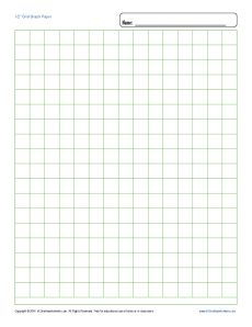 Worksheets Blank Math Worksheets printable graph paper 12 inch grid free blank template math worksheets